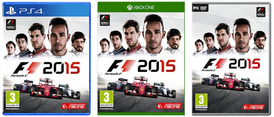 F1 2015 cover art